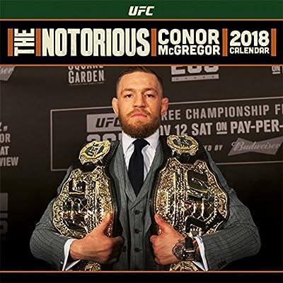 Ufc Calendrier.Conor Mcgregor Poster Calendrier Ufc The Notorious