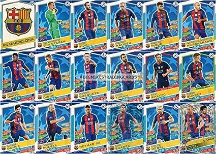 Match Attax 2019//20 conjunto completo de todas las tarjetas de leyenda del club 16