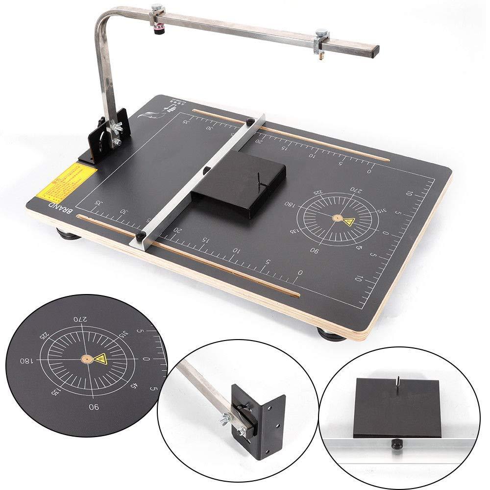 Table Foam Cutter, TBVECHI Foam Cutting Machine ulti-Purpose Board Hot Wire Styrofoam Cutter Working Table by TBvechi (Image #3)
