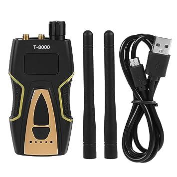 Detector de Amplificador de señal gsm T-8000 Detector inalámbrico de frecuencia Detector de Mano para Buscador de GPS con luz LED: Amazon.es: Electrónica