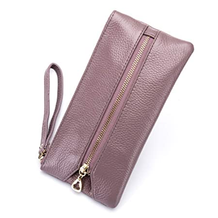 hsy Key Case,Leather Key Holder Bag,Women s Coin Purse With 16 Hooks Can Be  Used As A Wallet Or Cardholder (Color   Pink)  Amazon.co.uk  Kitchen   Home 7f17fc1d9