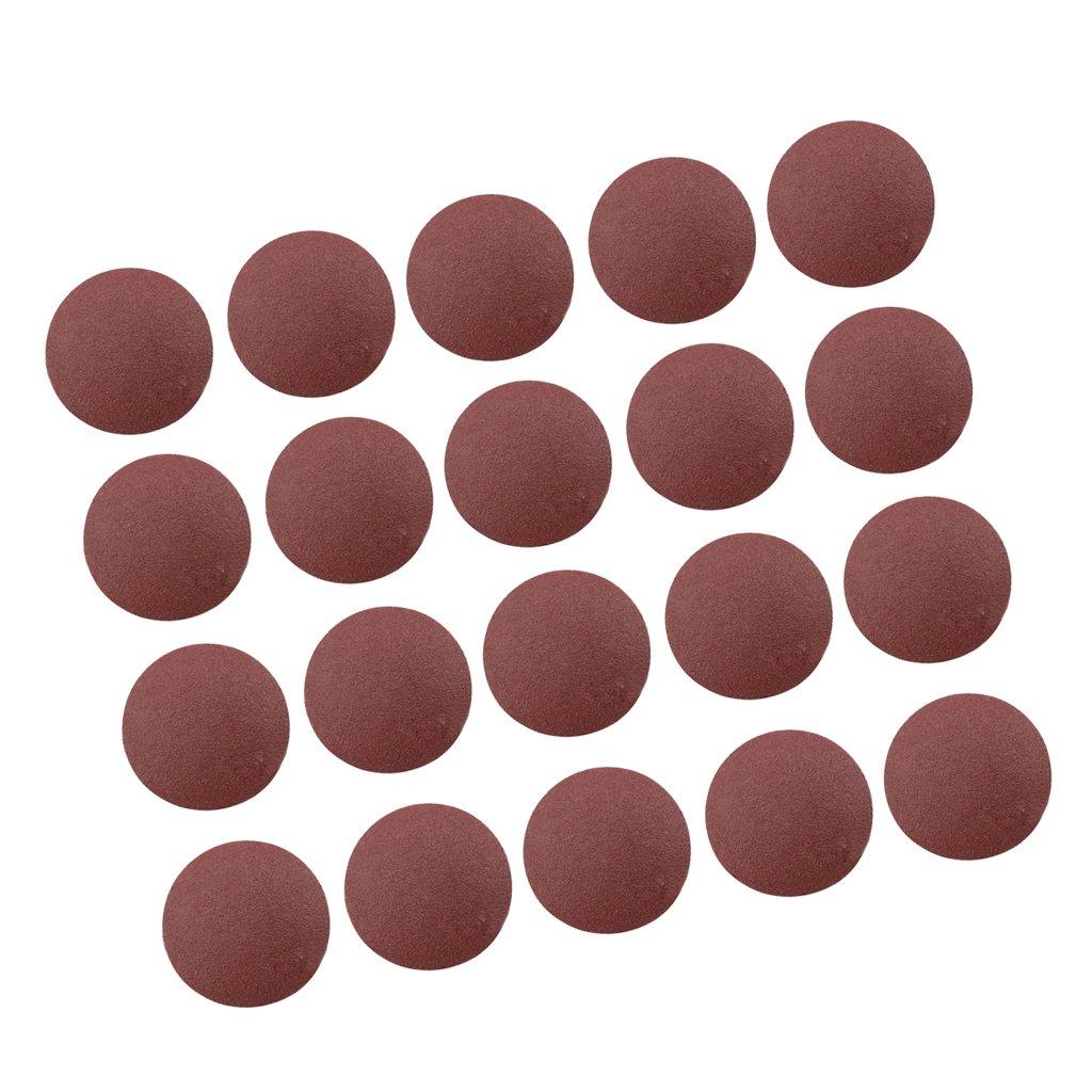 20x 75mm Schleifscheiben Polierscheibe Schleifpapier in unterschiedliche K/örnung P400