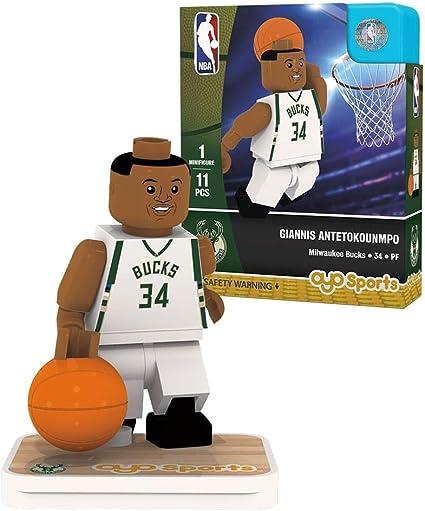 Amazon.com: Oyo Deportes nba Minifigura Milwaukee Bucks ...