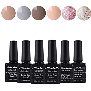 Annabelle Esmaltes Permanentes Para Uñas Nail Art Soak Off Uv Led Esmalte Permanente De Gel Lot 6 Pcs 73mlpc 0001