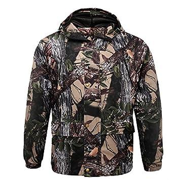 Amazon.com: damaizhang camuflaje caza trajes transpirable ...