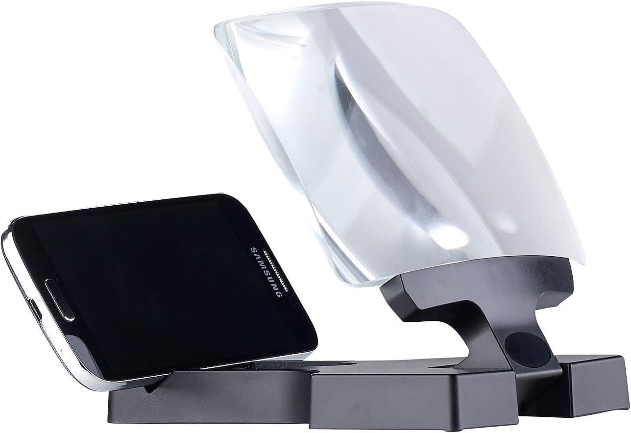 Callstel Premium Smartphone Lupe Mit Amazon De Elektronik