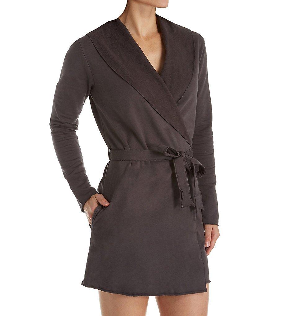 Love & Grace Willa Fleece Wrap Robe (FLE3023) XL/Raven
