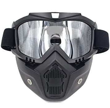 QQBL Motocicleta Casco Montar Fuera De Carretera Equipo Al Aire Libre Harley -Davidson Gafas Máscara