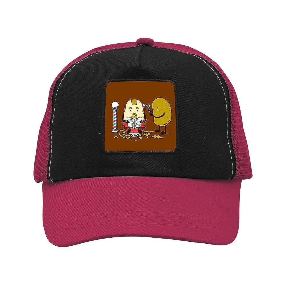 Nichildshoes hat Mesh Caps Hats for Men Women Unisex,Print Potato
