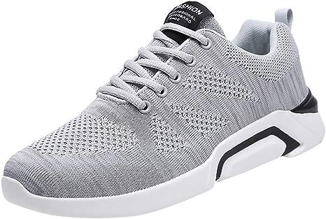 ღLILICATღ Zapatillas para Correr para Hombres y Mujer,Zapatos ...