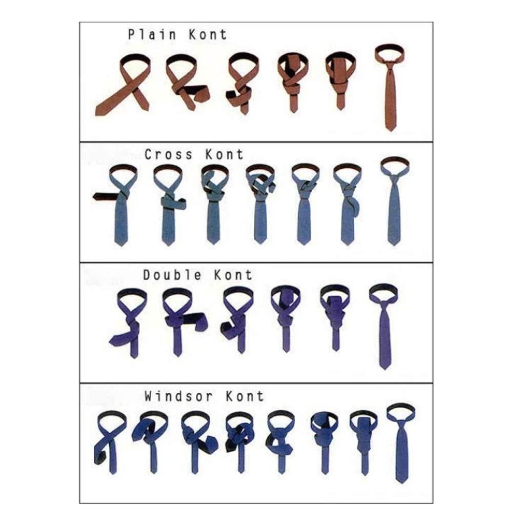 Wangyi Corbata- Hombres, Corbata de Seda Casual de Negocios de 7cm ...