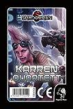 Pegasus Spiele 45042G - Shadowrun Karrenquartett, Quartett