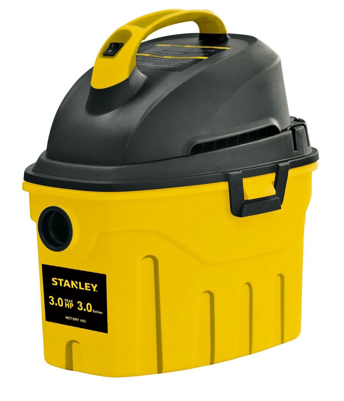 Stanley Wet/Dry Vacuum, 3 Gallon, 3 Horsepower