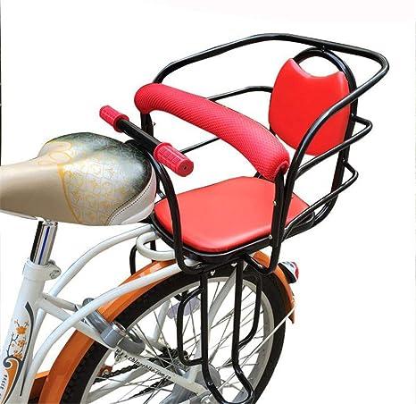 FAMLYJK Asiento de Bicicleta para bebé - Portabicicletas - Silla ...