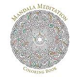 Book Cover for Mandala Meditation Coloring Book (Serene Coloring)