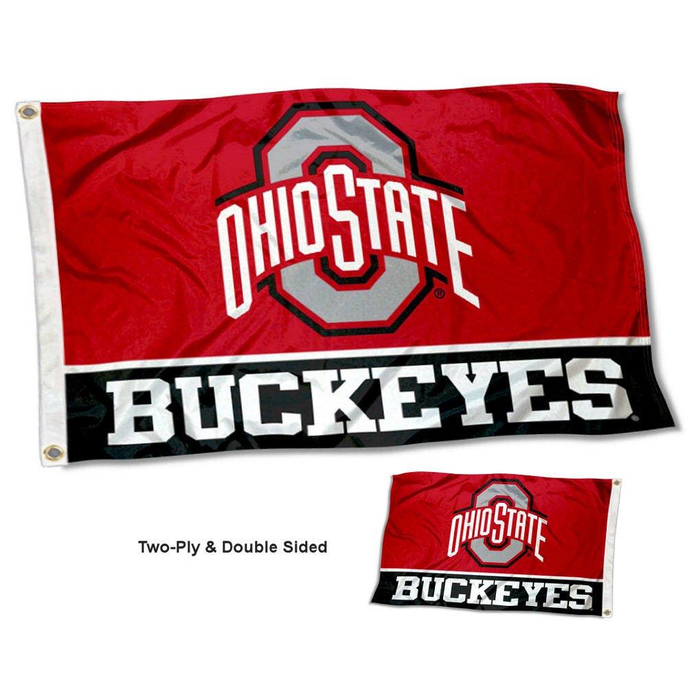 Ohio State Buckeyes両面フラグ B079C6D8BC 21462