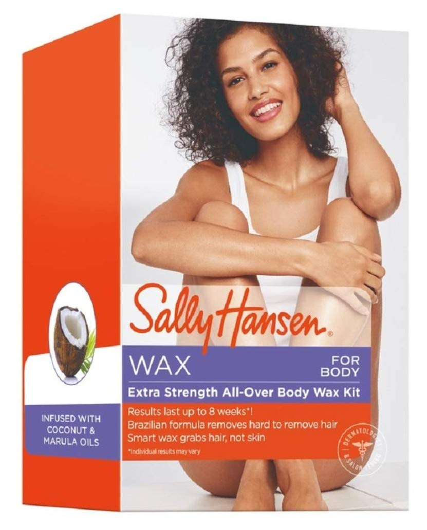 Sally Hansen All-Over Body Wax Kit X-Strength (6 Pack) by Sally Hansen