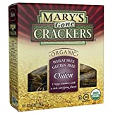 Mary's Gone Organic Crackers, Onion, 6.5 oz