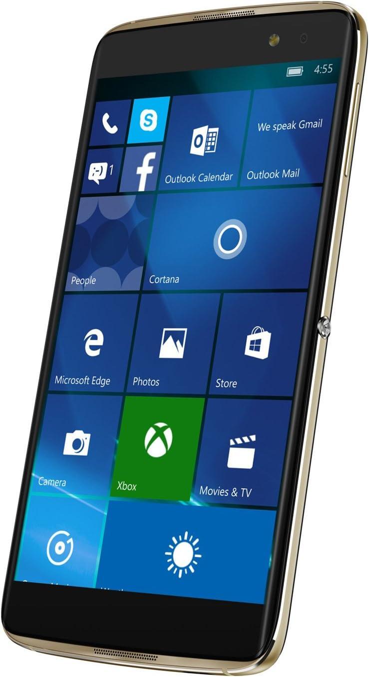 Alcatel Idol 4 Pro 6077 X Smartphone (5,5 pulgadas, 64 GB de memoria, Windows 10 mobile) – oro: Amazon.es: Electrónica