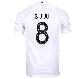 1b534fcac Nike S J JU  8 South Korea Men s Away Soccer Jersey World Cup Russia 2018