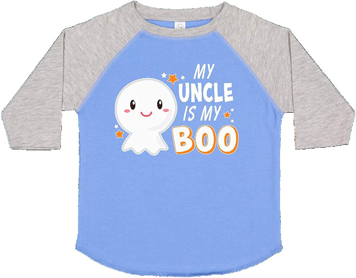 inktastic My Uncle is My Boo with Cute Ghost Toddler T-Shirt