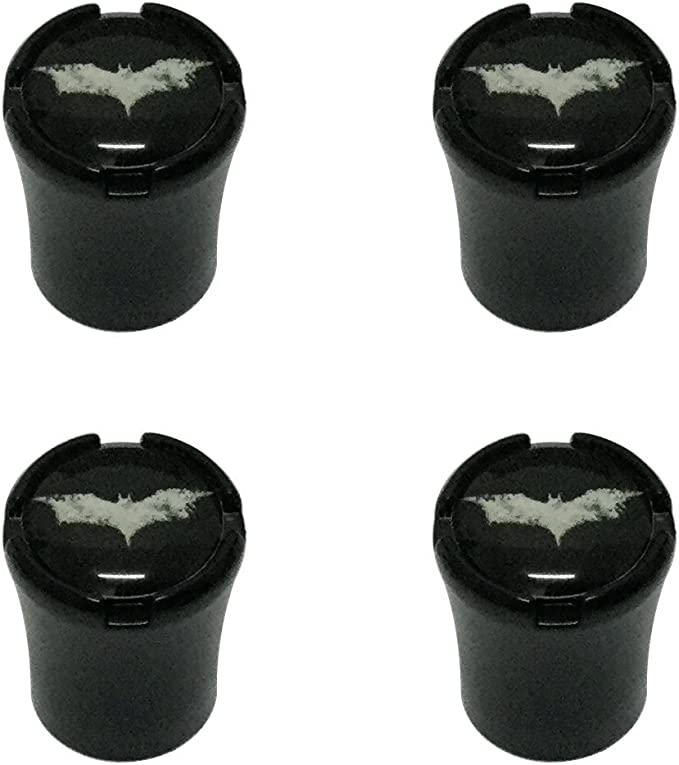 Batman Cool For Universal Car Tyre Tire Wheel Stem Air Valve Cap Anti-theft 4Pcs