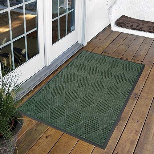 NoTrax 168 Opus Rubber-Backed Entrance Mat for Home or Office 4 X 6 Charcoal