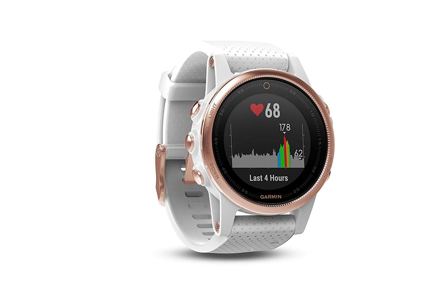 Garmin Fenix 5S - Sapphire, (Rose Gold/White Band) Bundle with PowerBank + USB Car Charger + USB Wall Charger (4 Items) by E Zee Electronics (Image #4)