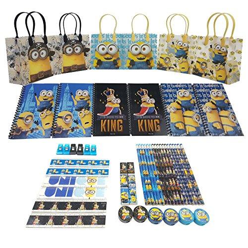 Disney's Minions Stationery Set (54 Pcs) Medium Sized Bag 8