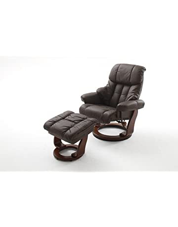 robas lund sessel relaxsessel calgary mit hocker
