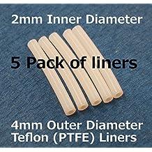 FLASHFORGE 3D Printer Teflon Tube For Nozzle (5 pack of liners)