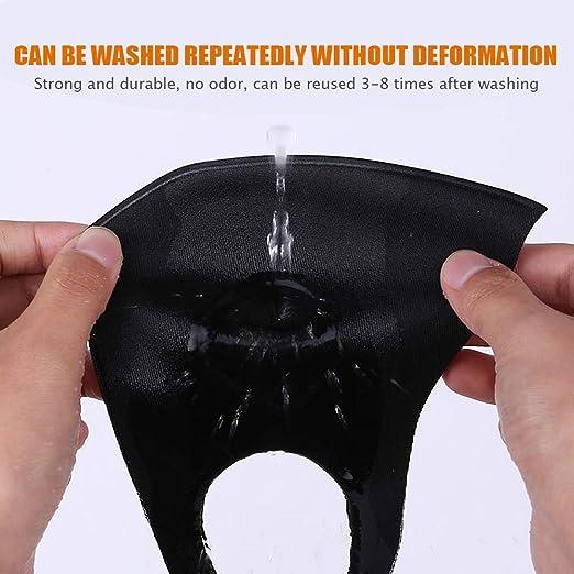 atmungsaktive Masken f/ür Erwachsene M/änner und Frauen waschbare dreischichtige ohrenh/ängende Masken Schwarz die reiten und campen RTGFS 8 wiederverwendbare staubdichte und einatembare Masken