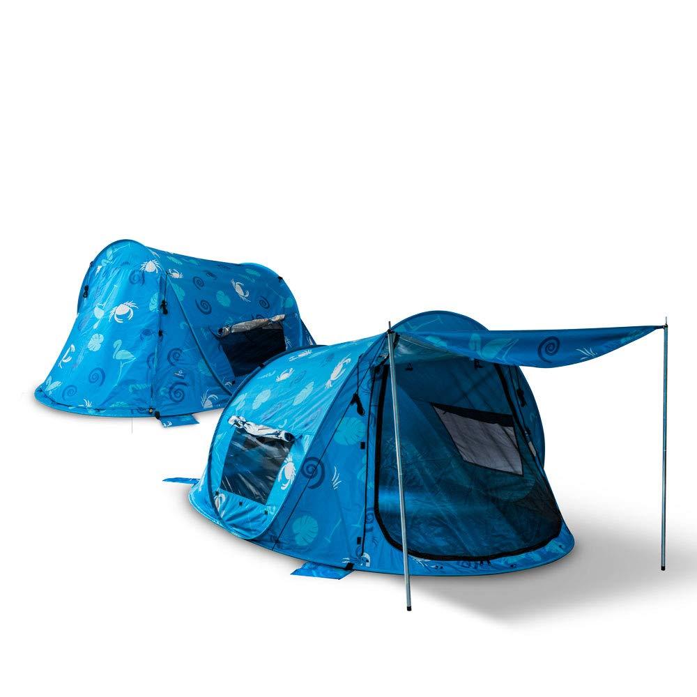 Pop Up strandmuschel protección solar playa carpa playa concha carpa protección contra el viento