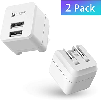 Amazon.com: USB Wall Charger Block [2-Pack], Syncwire Dual ...