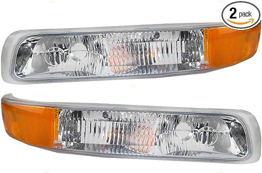 For Express 1500 96 Passenger Side Parking Light Clear Lens