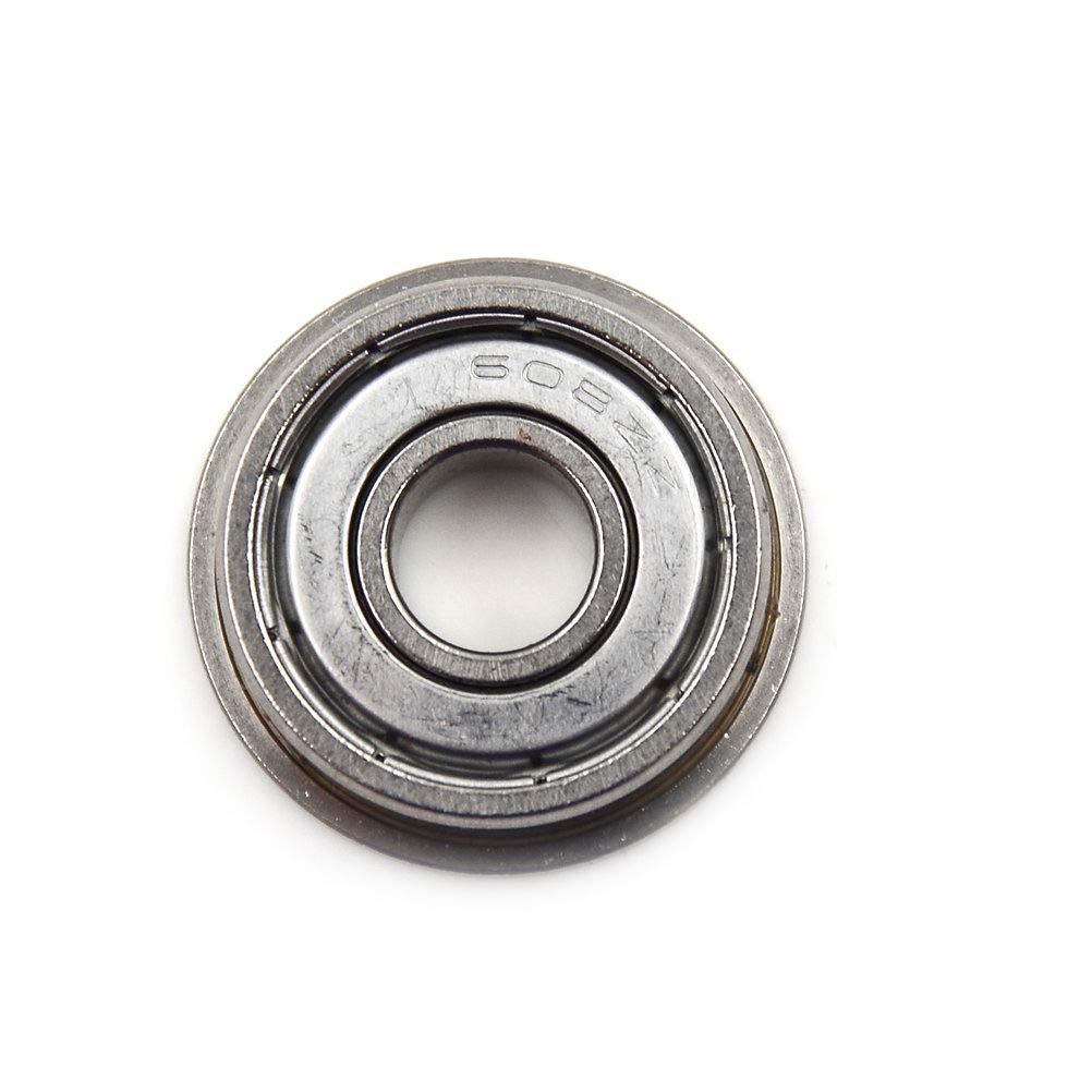 5pcs Mechanical Replace Flange Ball Bearing F608ZZ 8*22*7mm Metric Bearing