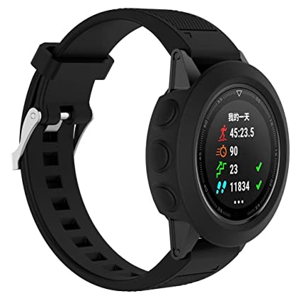 Moda Deporte Reloj Slim silicona Carcasa de Repuesto para Garmin Fenix 5 GPS reloj, color