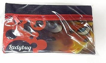 Miraculous CAT-FPC-5005 Ladybug - Estuche Plano (20 cm): Amazon.es: Juguetes y juegos
