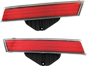 Halogen Tail Light For 2008-2010 Honda Accord Coupe Right Clear//Red w// Bulbs