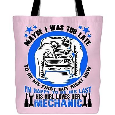 Amazon.com: Su niña le aman sus bolsas mecánicas con asas ...