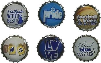 Kate Grenier Designs Penn State Tailgating Bottle Cap Magnets