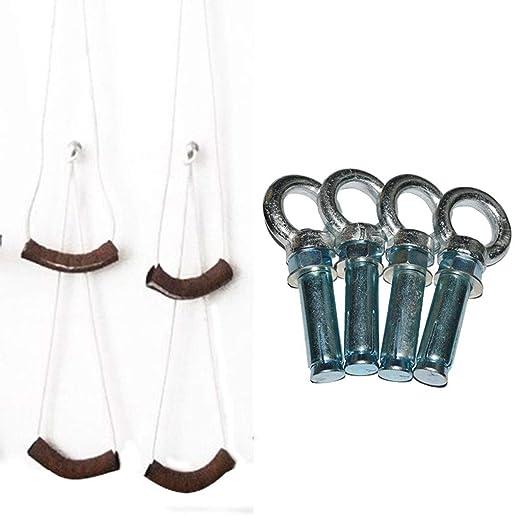DLT Iyengar - Cuerda de yoga para colgar en la pared, kit de ...