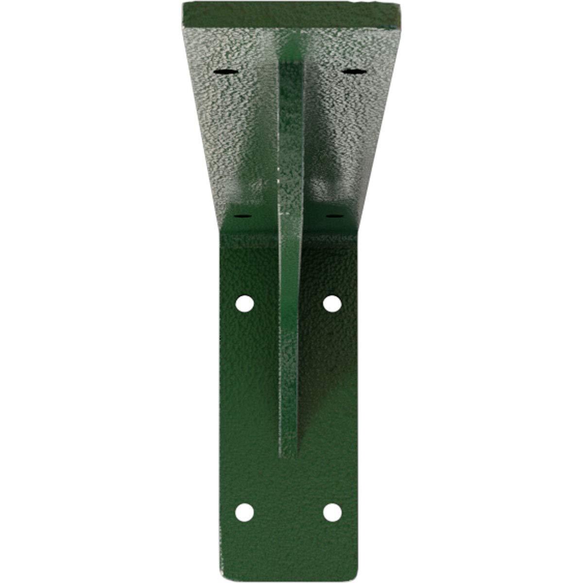 2W x 8D x 4 1//4H Unfinished Ekena Millwork BKTM02X08X04EBCRS Steel Bracket