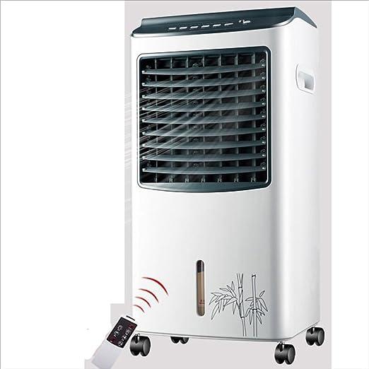 XIAOYAN Ventilador evaporativo del Aire Acondicionado del Ventilador del refrigerador de Aire del Tanque de Agua de 65W 8L - Blanco: Amazon.es: Hogar