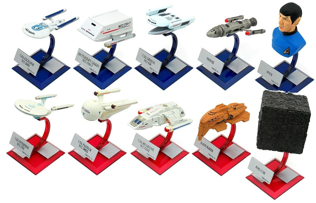 Amazoncom Furuta Star Trek Vol 3 Full Set 10 Model Enterprise Beauty