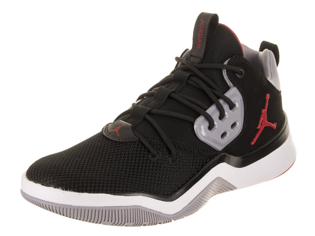 Jordan メンズ B07BGFY4K7 9.5 D(M) US Black/Gym Red Cement Grey
