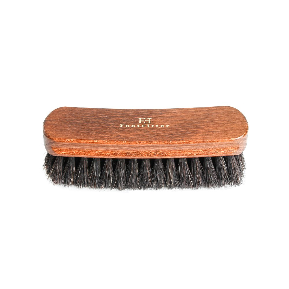 FootFitter Shoe Shine Brush for Polishing and Cleaning, Diplomat Exclusive, Black