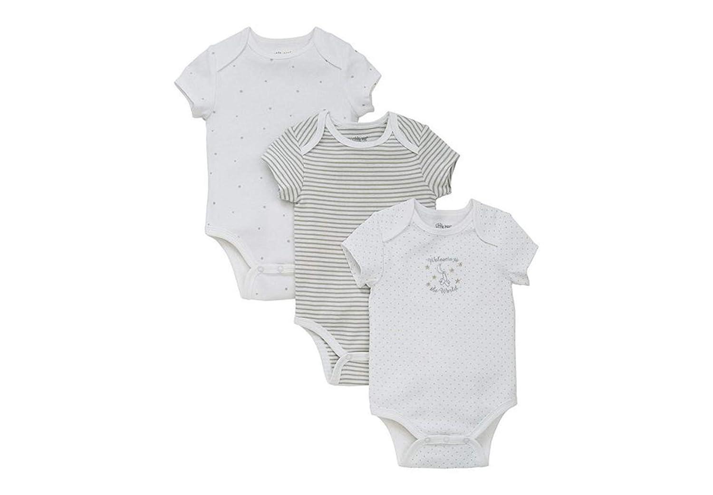 Little Me Baby Infant 3 Pack Bodysuit