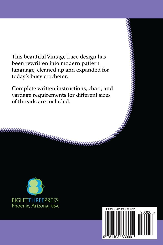 Grape & Leaf Altar Lace Filet Crochet Pattern: Complete Instructions and  Chart: Claudia Botterweg, Minnie Hoffinger: 9781493639991: Amazon.com: Books