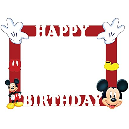 Buy Party Propz Mickey Mouse Photobooth Frame (2ft) Online at Low ...